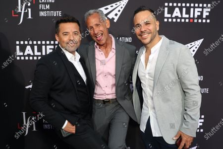 Stock Image of Oscar Torres, Angelo Pagan and  Anthony Nardolillo