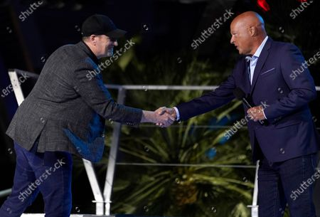 Editorial photo of Disney Avengers Campus Dedication Ceremony, Anaheim, United States - 02 Jun 2021