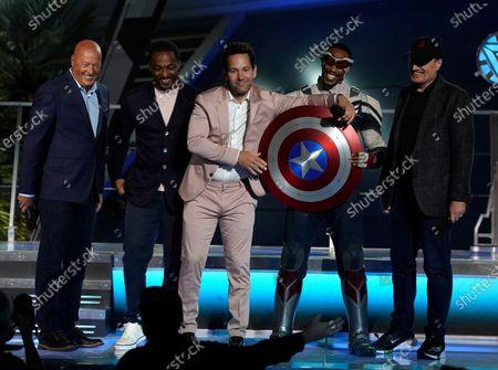 Editorial image of Disney Avengers Campus Dedication Ceremony, Anaheim, United States - 02 Jun 2021