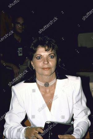 Sound engineer Renate Blauel, wife of Elton John.