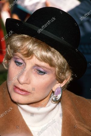 Actress Jill Ireland.