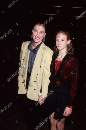 Actress Mariette Hartley and daughter.