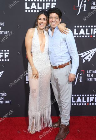 Editorial image of Los Angeles Latino International Film Festival, Opening Night and Premiere of '7th & Union', Arrivals, California, USA - 02 Jun 2021