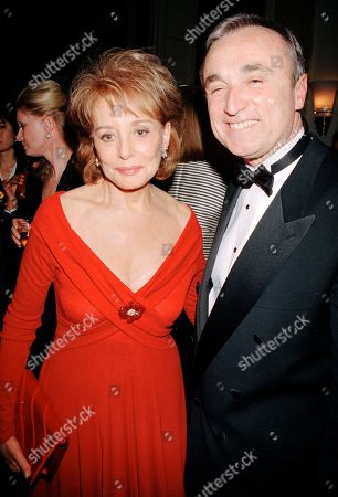 Editorial image of Barbara Walters,Jim Hartz