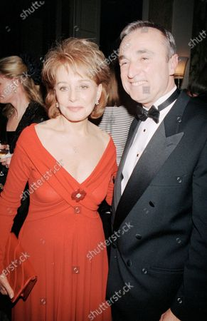 Editorial picture of Barbara Walters,Jim Hartz