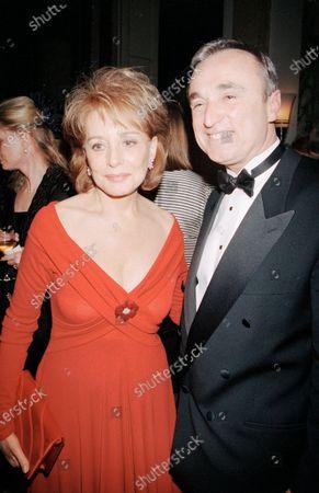 Stock Photo of UNITED STATES - JANUARY 01:  Barbara Walters,Jim Hartz
