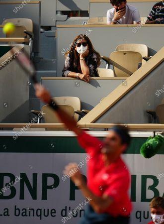 Editorial photo of French Open Tennis, Day Five, Roland Garros, Paris, France - 03 Jun 2021