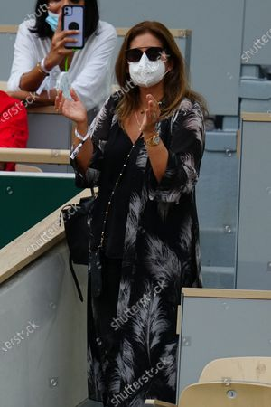 Editorial image of French Open Tennis, Day Five, Roland Garros, Paris, France - 03 Jun 2021