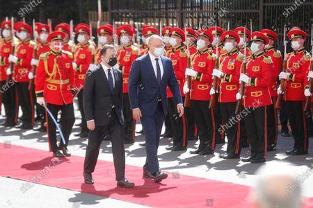 Editorial picture of Ukrainian Prime Minister Denys Shmyhal visits Georgia, Tbilisi - 03 Jun 2021