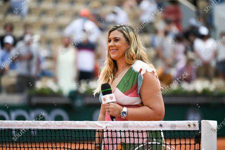 Marion Bartoli interviewing