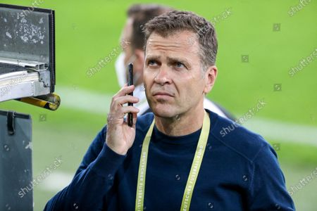 Stock Picture of Manager Oliver Bierhoff (Germany)