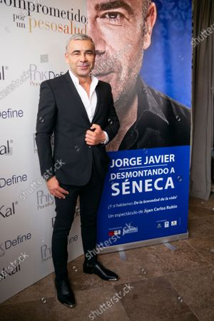 Editorial image of Jorge Javier Vazquez presents pronokal event, Madrid, Spain - 03 Mar 2020
