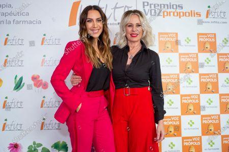 Monica Naranjo and Miriam Diaz Aroca
