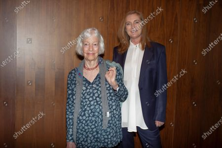 Archduchess Francesca von Habsburg and artist Joan Jonas