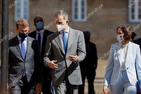 King Felipe VI opens 1st World Jacobean Academy Congress, Santiago De Compostela