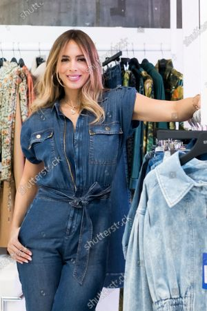 Stock Picture of Venezuelan model Shannon De Lima presents studio F during MOMAD fair 2020 at Ifema on February 07, 2020 in Madrid, Spain.