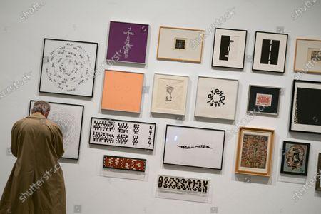 Editorial photo of Ignacio Gomez De Liano exhibition, Madrid, Spain - 03 Feb 2020