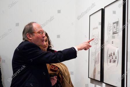 Editorial image of Ignacio Gomez De Liano exhibition, Madrid, Spain - 03 Feb 2020