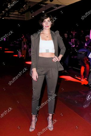 Eugenia Ortiz Domecq during in fashion show during Mercedes Benz Fashion Week Madrid Autumn/Winter 2020-21 on January 31, 2020 in Madrid, Spain