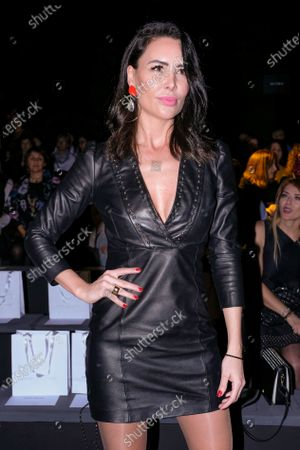 Stock Picture of Vania Millan during in fashion show during Mercedes Benz Fashion Week Madrid Autumn/Winter 2020-21 on January 31, 2020 in Madrid, Spain