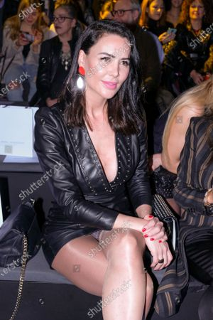 Stock Image of Vania Millan during in fashion show during Mercedes Benz Fashion Week Madrid Autumn/Winter 2020-21 on January 31, 2020 in Madrid, Spain