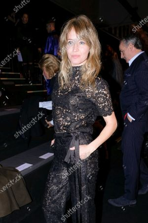 Marta Larralde during in fashion show during Mercedes Benz Fashion Week Madrid Autumn/Winter 2020-21 on January 31, 2020 in Madrid, Spain