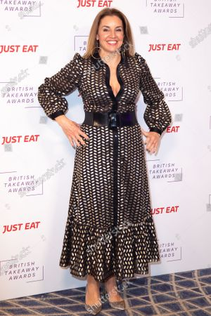 Sarah Willingham attends the fifth annual British Takeaway Awards, in association with Just Eat at The Savoy Hotel 27 January, 2020 in London, England.
