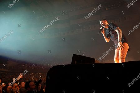 Editorial image of Melendi in concert, Madrid, Spain - 17 Jan 2020