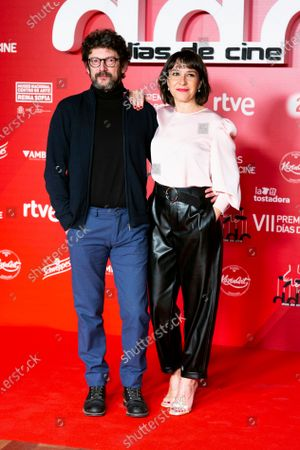 Manolo Solo and Pilar Gomez attends 'Dias de Cine' awards at the Reina Sofia Art Museum on January 14, 2020 in Madrid, Spain.