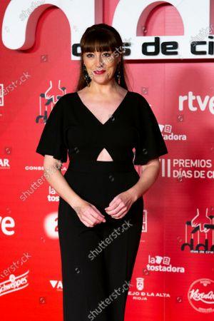Actress Pepa Aniorte attends 'Dias de Cine' awards at the Reina Sofia Art Museum on January 14, 2020 in Madrid, Spain.