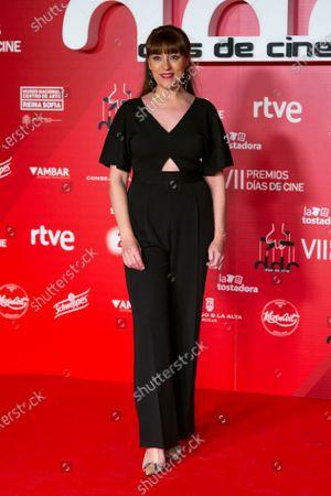 Stock Photo of Actress Pepa Aniorte attends 'Dias de Cine' awards at the Reina Sofia Art Museum on January 14, 2020 in Madrid, Spain.