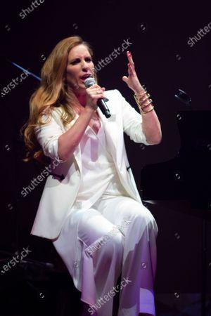 Editorial image of Maria Toledo in concert, Madrid, Spain - 14 Jan 2020