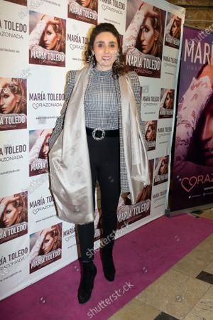 Editorial photo of Maria Toledo in concert, Madrid, Spain - 14 Jan 2020