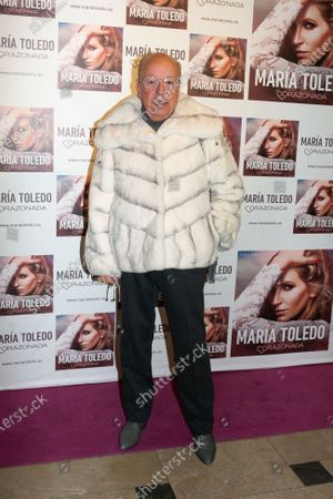 Stock Image of Rappel attends the photocall for Maria Toledo Corazonadas tour in Madrid on 13 January 2020. Spain