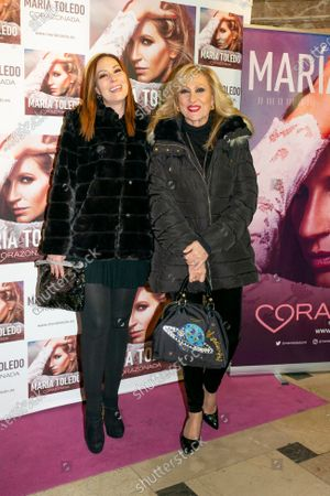 Stock Photo of Rosa Benito attends the photocall for Maria Toledo Corazonadas tour in Madrid on 13 January 2020. Spain