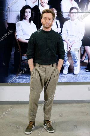 Spanish actor Pablo Rivero attends the 'Cuentame como paso' new season presentation on January 09, 2020 in Madrid, Spain.