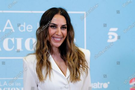 Monica Naranjo attends 'La isla de las tentaciones' Tv show presentation on January 8, 2020 in Madrid, Spain.