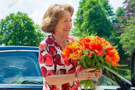 Princess Margriet baptizes Invictus Games Tulip, Apeldoorn