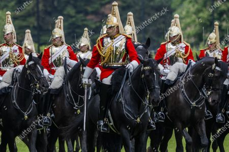 Household Cavalry Mounted Regiment, Hyde Park, London