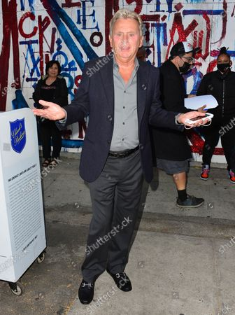 Editorial image of Pat Sajak out and about, Los Angeles, USA - 03 Jun 2021