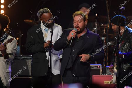 Fantastic Negrito and Nathaniel Rateliff perform at the Fifth Annual Love Rocks NYC Benefit Concert Livestream for God's Love We Deliver.