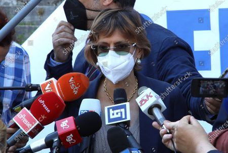 Editorial image of Delivery of signatures to the Supreme Court on Justice Referendum, Rome, Italy - 03 Jun 2021