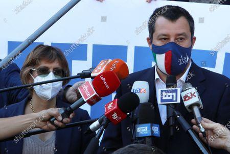 Giulia Bongiorno, Matteo Salvini