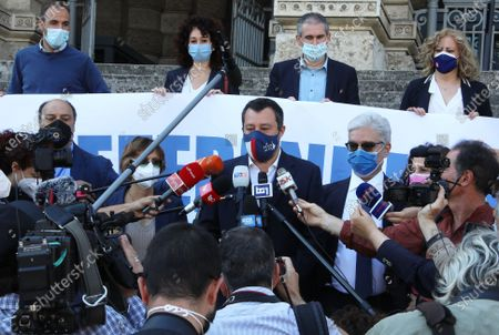 Giulia Bongiorno, Matteo Salvini, Maurizio Turco