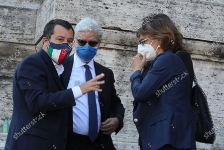 Editorial photo of Delivery of signatures to the Supreme Court on Justice Referendum, Rome, Italy - 03 Jun 2021
