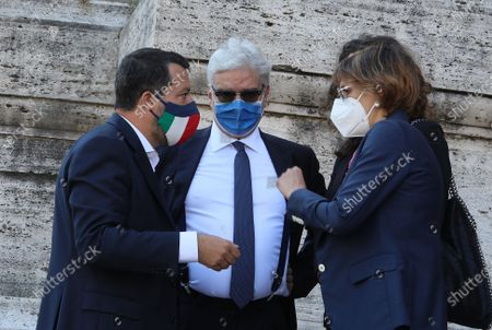 Editorial picture of Delivery of signatures to the Supreme Court on Justice Referendum, Rome, Italy - 03 Jun 2021