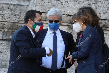 Matteo Salvini, Maurizio Turco, Giulia Bongiorno