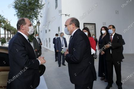 Visit to the Bardo Museum by Jean Castex, Prime Minister, along with his wife and the Tunisian Minister of Tourism and Culture on his visit to Tunis on the occasion of the 3rd High Council of Franco-Tunisian Cooperation, accompanied by Mr Jean-Yves Le Drian, Minister for Europe and Ztrangres Affairs, Ms Frederique Vidal, Minister for Higher Education, Research and Innovation, Jean-Baptiste Djebbari-Bonnet, Minister Delegate to the Minister for Ecological Transition, in charge of Transport, Mr Alain Griset, Minister Delegate to the Minister of Economy, Finance and Recovery, in charge of Small and Medium-sized Enterprises.
