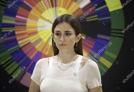 Spanish actress Marina Salas