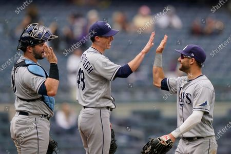 Editorial image of Rays Yankees Baseball, New York, United States - 03 Jun 2021